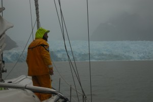 Gloomy day at San Rafael glacier