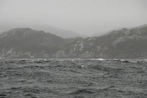 into Straits of Magellan