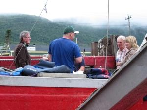 Gam with fishermen