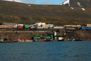 Barentsberg Russian base