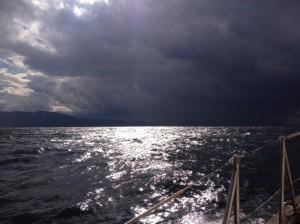 The Black Sea gets black