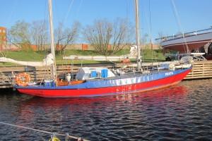 Polish classic yacht