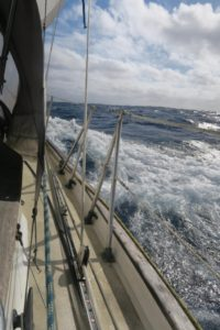 Trade wind sailing