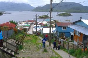 Main street Puerto Aguirre