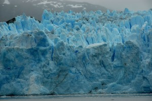 the extraordinary colours of glacial ice