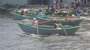 annual dory race, Woody Point