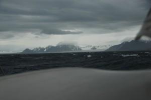 Svalbard landfall