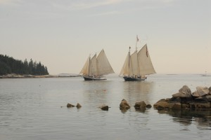 Schooners at Stonington
