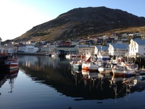 Honningsvag harbour