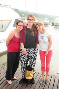 Rosie, Jen and Max